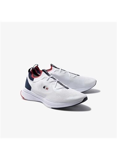 Lacoste Lacoste Run Spin Knitoly Erkek Beyaz Sneaker Beyaz